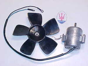 Maserati Mistral Heater Blower Motor_Heater blower Motor Fan Blade OEM