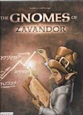The Gnomes of Zavandor Strategy Board Game by Z-Man Games in Shrinkwrap