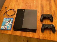 Sony PlayStation 4 Spielkonsole + 2 Contoller + FIFA19