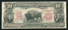 "FR. 114 1901 $10 TEN DOLLARS ""BISON"" LEGAL TENDER UNITED STATES NOTE"