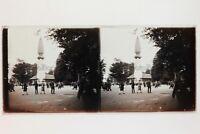 Fête Pubblicità Francia Placca Da Lente Stereo Vintage 6x13cm