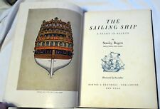 1950 The Sailing Ship; A Study In Beauty by Stanley Rogers 1st Edition Book