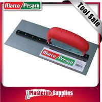 "Marco Pesaro 11"" 280mm x 120mm HEAVY BASE Square Concrete Flooring Trowel"