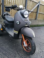 Black 3 Wheeled 60V 100AH 600W Electric Mobility Scooter FREE Delivery BZ500