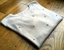 Camayeu jumper, pearl-like bead studded