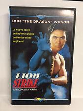 LION STRIKE, ATTACCO ALLA MAFIA - VHS - DONE THE DRAGON WILSON (1993)