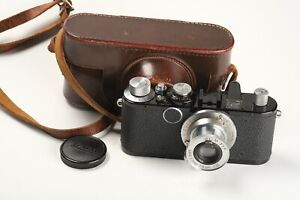 Leitz Leica IA Umbau in Standard Nr. 36712 mit Elmar 3,5/5cm, 1x Deckel, Tasche