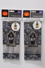 40 CT WILTON RIP TREAT BAGS Halloween Party Favors Candy Popcorn Grave Cello NEW