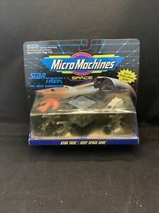 STAR TREK Micro Machines Space The Next Generation Collection 4 KG LL