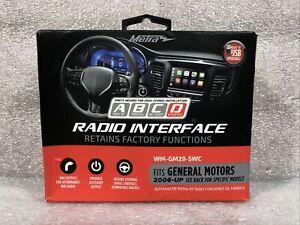 Metra Radio Interface General Motors 2006-UP WM-GM29-SWC Retain Factory Function