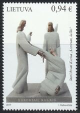 Lithuania 2017 MNH Modern Lithuanian Art.For vocation of doctors.S.Kuzma.Jesus