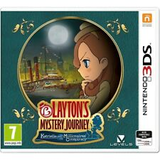 Layton's Mystery Journey Katrielle and The Millionaires Conspiracy 3ds Game