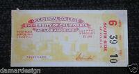 ☆ EXCEPTIONAL 1931 UCLA vs OCCIDENTAL Football Ticket Stub LA Coliseum Olympics