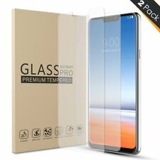 LG G7 / LG G7 ThinQ Case-Friendly Tempered Glass Screen Protector 2 Pack