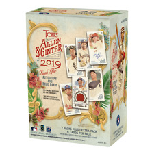2019 Topps Allen & Ginter Baseball 8 Pack Blaster Box FACTORY SEALED