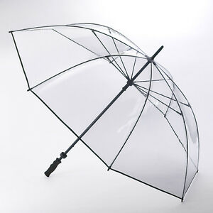 Fulton Clearview Extra Large Canopy Clear Golf Umbrella
