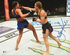 Justine Kish Signed 11x14 Photo BAS Beckett COA UFC Fight Night 102 Picture Auto