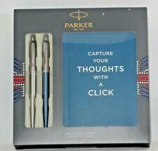 New Parker Jotter Duo Ballpoint Pen Notebook GIFT SET
