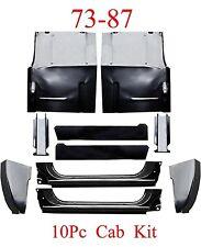 73 87 Chevy 10Pc Cab Repair Kit, X-Rocker, Cab Corner, Inner, Floor & Support