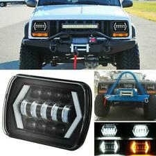 1pc For Toyota Pickup Truck 7X6INCH LED Headlight Hi/Lo Sealed Beam DRL Signals