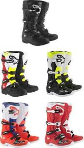 Alpinestars Tech 5 Boots - MX Motocross Dirt Bike Off-Road ATV Mens Gear