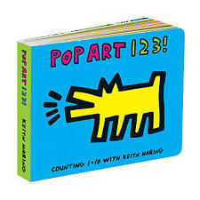 Keith Haring Pop Art 123! by Galison Mudpuppy (Board book, 2017)