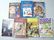 Young Adult Book Lot Diary Of A Wimpy Kid Keepers Of The School Coffin On A Case