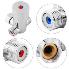 Hot Cold Water Thermostatic Temperature Control Mixer Valve Sensor Faucet High