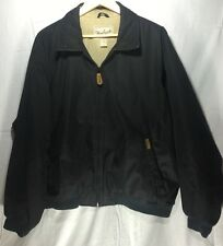 Mens Woolrich Black Winter Jacket Coat 2XL Polyester