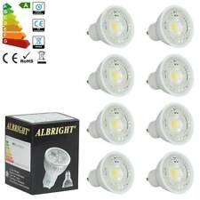 8x 7W COB GU10 LED Bulbs Spotlight Lamps Downlight Warm White Energy Saving UK