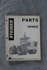 Steiger Panther II 4WD tractor original parts catalog #37-027
