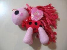 "6"" plush Lalaloopsy Ladybug Pony doll, made by MGA, good condition"