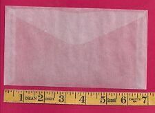 """50 NEW JBM #6 Glassine Envelopes 3-3/4"""" x  6-3/4"""""""