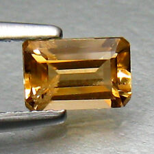 0.54ct Yellow Tourmaline 100% Natural Africa Nice Color Gemstone $NR