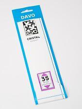 DAVO CRISTAL STROKEN MOUNTS C35 (215 x 39) 18 STK/PCS