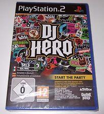 PS2 - DJ HERO (Sony PlayStation 2) - new, sealed