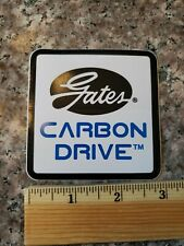 GATES CARBON Belt Drive Road Tri Mountain Commute Race Bike Frame Sticker Decal