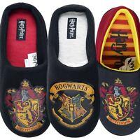 Mens / Boys Official Harry Potter Slippers Hogwarts Gryffindor Novelty Gift