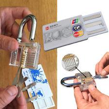 Home Work 5Pcs/Set Credit Card Unlocking Locksmith Lock Picking Training Tool