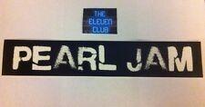 "Pearl Jam Sticker vinyl 10"" Long Logo Rare Club Spray Paint  LP Art New LE OOP"