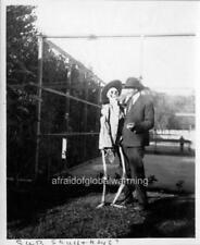 "Photo 1890s Univ Calif Berkeley ""Student & Skeleton"""