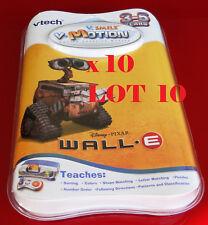 10x Vtech v-motion Wall-E, 3-5 YEARS, V.smile,v.smile cyber pocket pc pal,v link