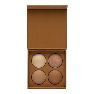 NIB Lorac Hustle & Glow Baked Bronzer and Highlighter Palette 0.33 oz