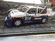 Mg Metro 6r4 rally talla B RAC gb WM 1986 #15 mcrae racing novafo Ixo Altaya 1:43