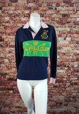 Ralph Lauren Blue Pink Green Long Sleeve T-Shirt Top Shirt Polo  Size S