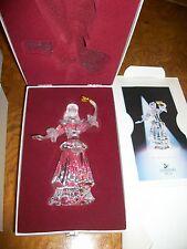"2000 Swarovski Crystal Masquerade Colombine figurine 6½"""