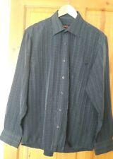 Pierre Cardin Mens Large Blue Check Shirt