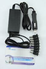 HQ 50W 12V In-Car Universal Notebook PC Power Supply 15-24V Output