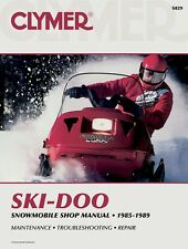 Clymer Service Manual for Ski-Doo All Watercooled Twins (85-89) #S829