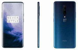 NEW OnePlus 7 Pro (GM1915) - 256GB Mirror Blue (8GB RAM) - (GSM Unlocked)